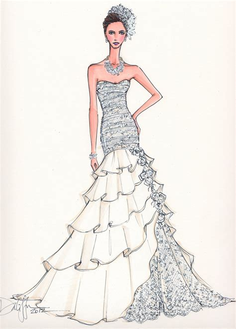 fashion illustration gown 10478 best images about bocetos de moda on