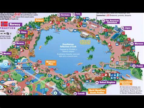 epcot s world showcase interactive map