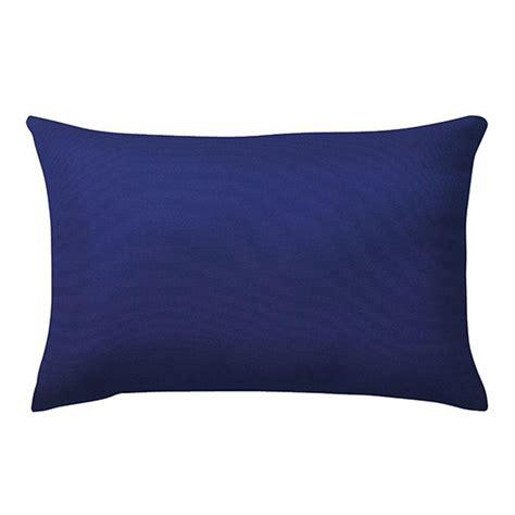 Sunbrella Lumbar Pillows by Home Decorators Collection Sunbrella Canvas True Blue
