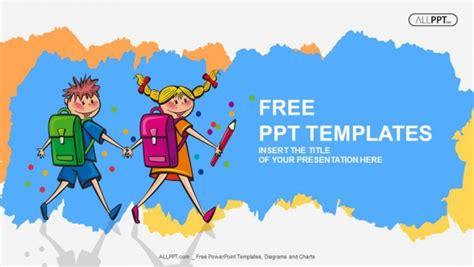 Free Education Powerpoint Templates Design Children S Book Powerpoint Template