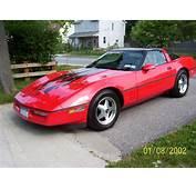 C4 Corvette  Show Your Graphics Forum Red
