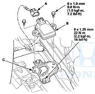 Sensor Pedal Vsa Honda Odyssey Rb1 2 3 Thn 2004 2013 honda accord yaw rate lateral acceleration sensor