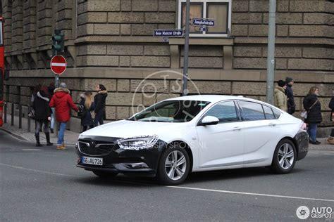 insignia opel 2017 opel insignia 2017 19 februar 2017 autogespot