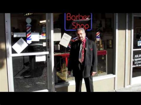 Barber Downtown Tacoma | thee barber shop tacoma washington youtube