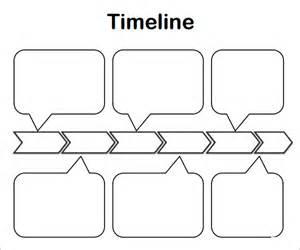 free timeline template sle blank timeline template 4 free documents