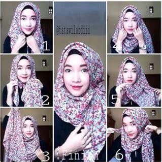 tutorial hijab simple tapi keren cara memakai jilbab pashmina praktis dalam 3 menit