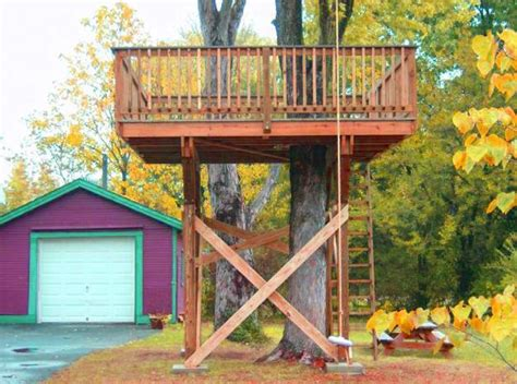 30 tree perch and lookout deck ideas adding diy