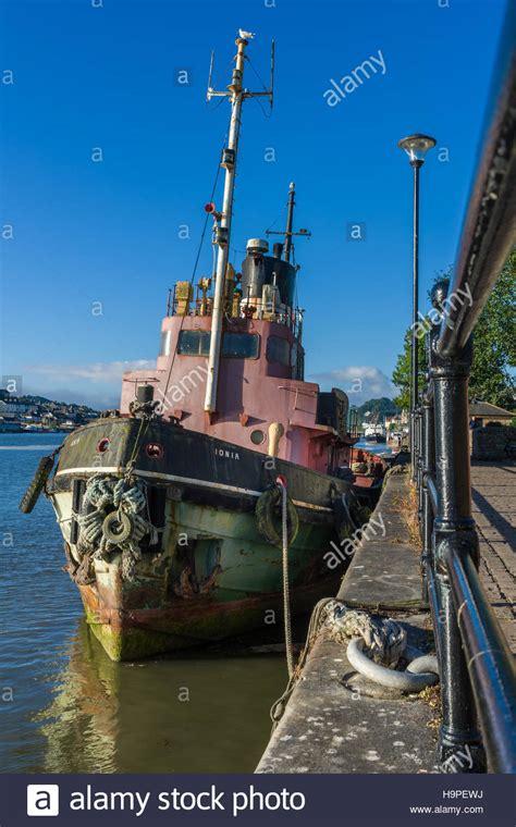 Tug Boat Shoppinf river thames tug boat ionia stock photo 126499118 alamy
