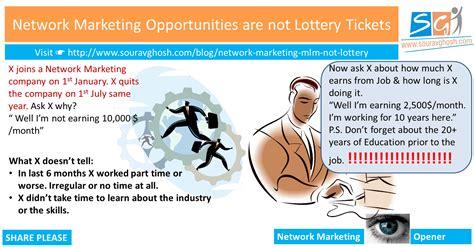 best network marketing opportunities network marketing opportunities are not lottery tickets