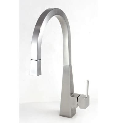 solid stainless steel single handle kitchen faucet with pull out sprayer head ebay imperial style solid stainless steel lead free single
