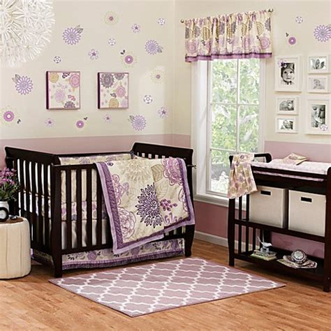 Dahlia Crib Bedding The Peanut Shell 174 Dahlia 4 Crib Bedding Set Buybuy Baby