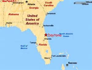 daytona map florida map florida daytona