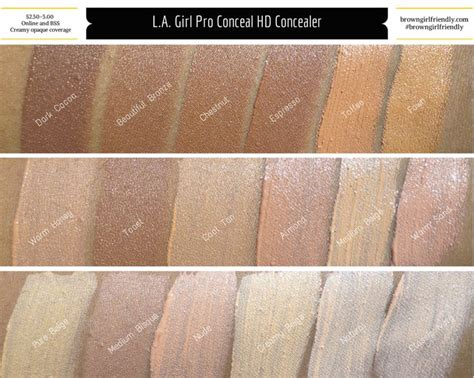 L A La Pro Conceal Hd Concealer New Shade Lavender Corrector 380 best images about concealer on store