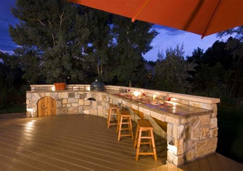 top of the hill back bar outdoor kitchens covered patios photos little rock