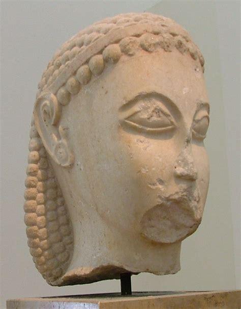 testa di testa di kouros 3372
