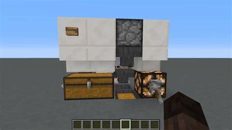 improved infinite storage  sorting system  minecraft