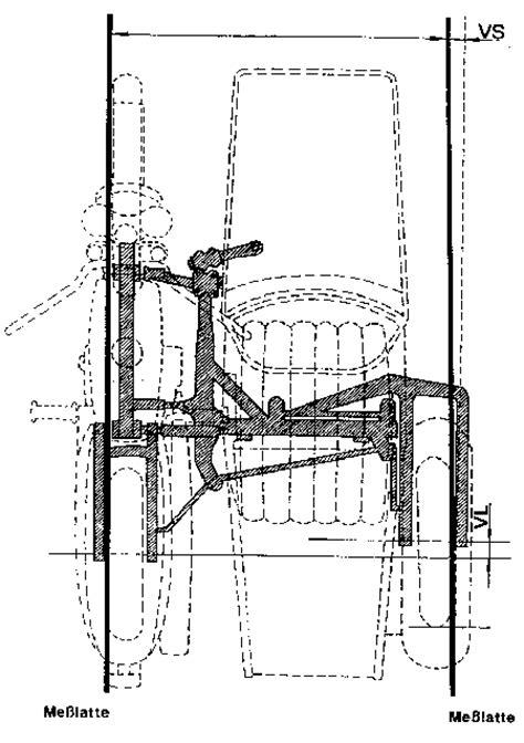 Motorradgespann Geometrie by Side Car