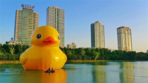 rubber st canada rubber duck sculpture