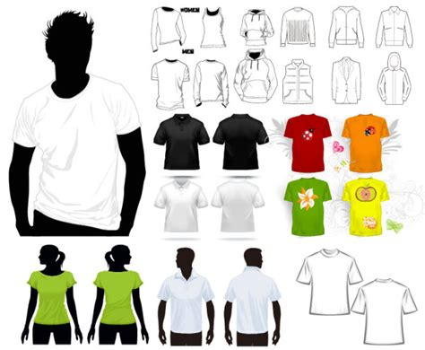 Shirt Design Vorlage T Shirt Vektor Vorlage Free Vector Psd Flash Jpg