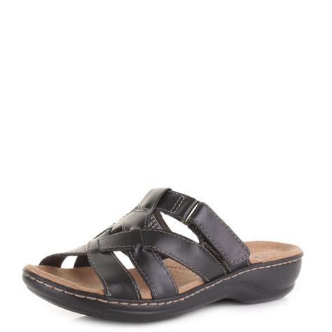 Sandal Abel Black Sandals Slip On Loafer Sandals Pria womens clarks leisa bloom black leather slip on mule
