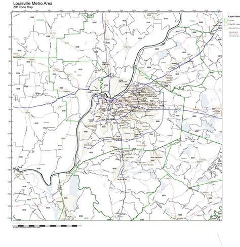 louisville zip code map zip code map louisville ky my