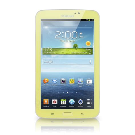 samsung galaxy tab  kids sm  gb  tablet yellow