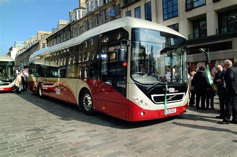 ten  volvo   edinburgh  lothian buses