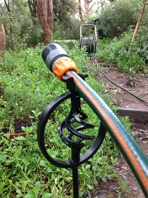Garden Hose Stakes by Garden Hose Stakes Garden Hose Stand Holder Decorative