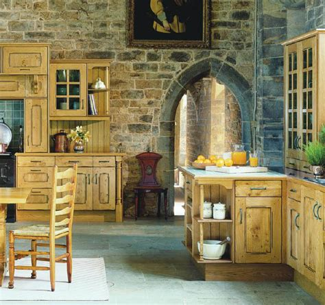 French Country Kitchen Furniture by English Country Style Kitchens