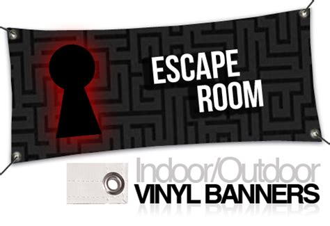 15oz Indoor Banners Spookteek Escape Room Website Template