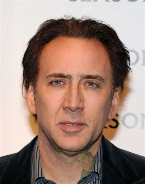nicolas cage tattoo neck images designs