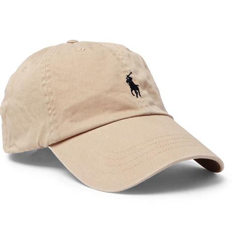 Terbaru Topi Baseball Polos Cotton Twill lyst polo ralph cotton twill baseball cap for