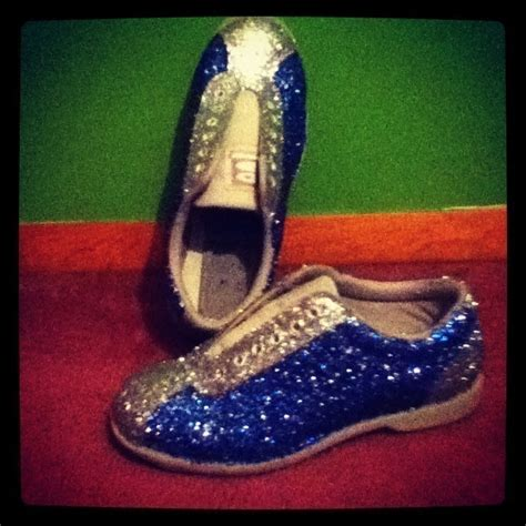diy bowling shoes glitterized bowling shoes 183 a pair of glitter shoes 183
