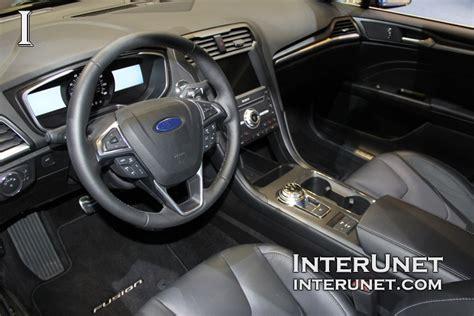 ford fusion 2017 interior 2017 ford fusion interunet