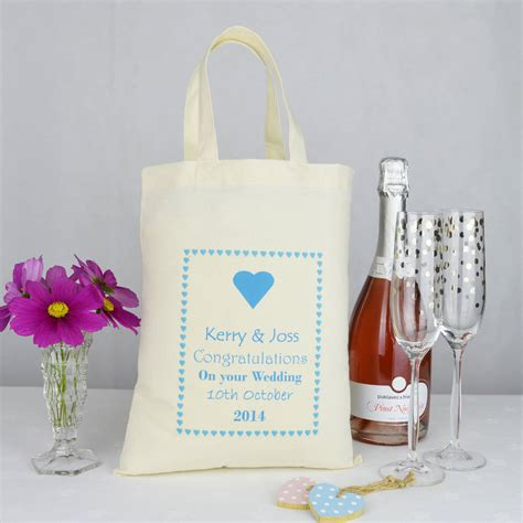 Gift Bags Wedding by Personalised Wedding Gift Bag By Andrea Fays
