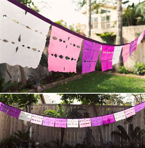 How To Make Mexican Paper Banners - cinco de mayo ideas embracing creativity