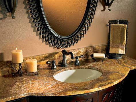 bathroom countertop decorating ideas choosing bathroom countertops hgtv