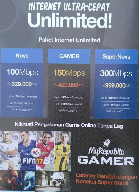 Wifi Unlimited Quota palembang myrepublic palembang