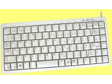 Keyboard Mini cherry mini keyboard beige ps 2 and usb g84 4100lcmgb 0