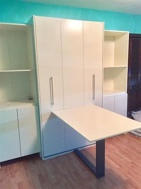 murphy bed with table murphy bed desk or drop table murphy bed nyc area