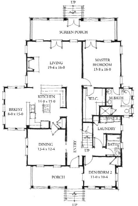 allison ramsey floor plans allison ramsey architects floorplan for the eden 2461