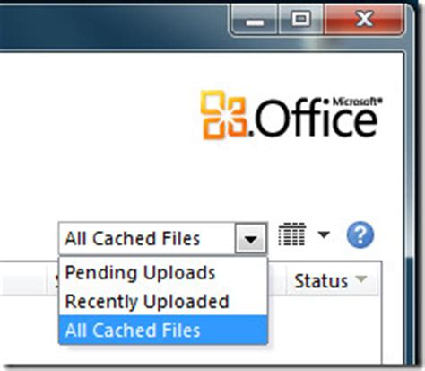 What Is Office Document Cache