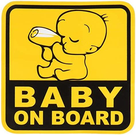 Baby On Board Sticker by Baby On Board Baby Safety Sign Car Sticker 5