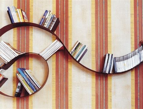 arad bookworm bookshelf eclectic display and wall