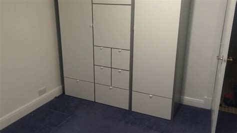 Kleiderschrank Visthus by The Visthus Wardrobe From Ikea Assembled In Sketty