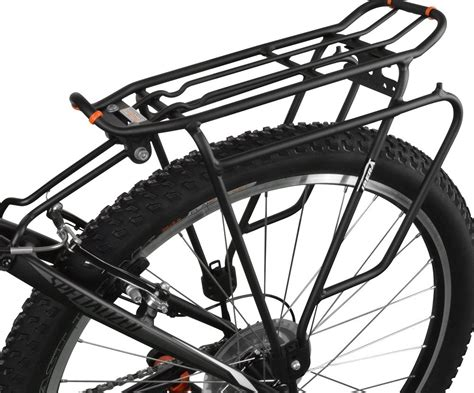 How To Use A Rear Bike Rack by Rear Pannier Racks For Chainstays And Heel