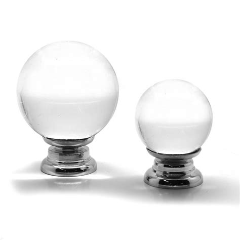 Glass Wardrobe Door Knobs Glass Clear Cupboard Door Knobs By Pushka Home Notonthehighstreet