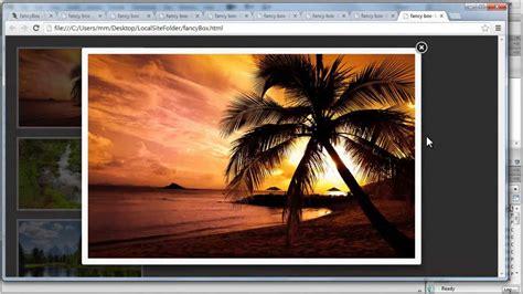 tutorial jquery lightbox dreamweaver tutorial fancybox jquery plugin gallery a