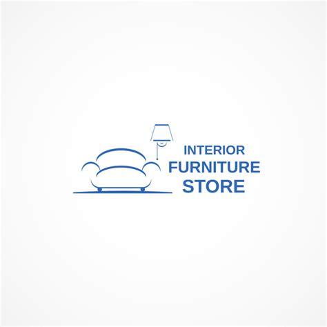 interior logo interior fuiniture store logo design vector free download