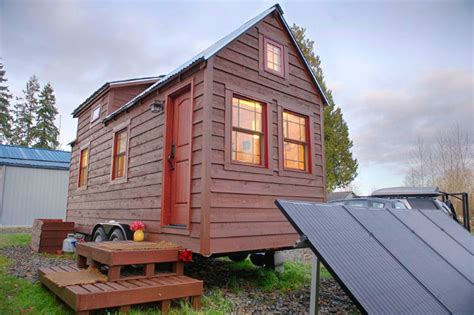 tiny house builders washington state chris malissa tack s tiny tack house lives large in washington state inhabitat